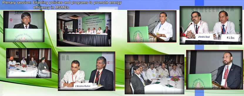 Plenary session-Enabling policies and programs to promote energy